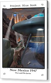 Lost Film Number 5 Acrylic Print by Mike McGlothlen