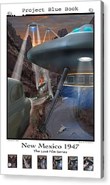 Lost Film Number 5 Se Acrylic Print by Mike McGlothlen