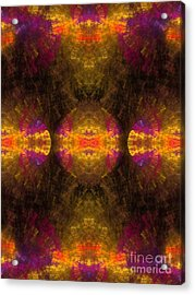 Acrylic Print featuring the digital art Lost In Colors by Hanza Turgul