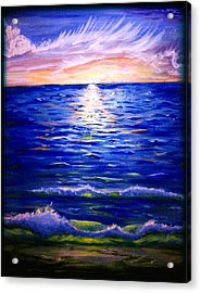 Lost In Paradise Acrylic Print by Joe Fussner