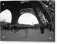 Lost In Paris Acrylic Print