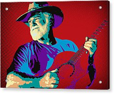 Jack Pop Art Acrylic Print