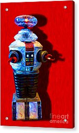 Lost In Space Robot - 20130117 Acrylic Print by Wingsdomain Art and Photography
