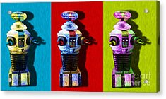Lost In Space Robot 3 - 20130117 Acrylic Print by Wingsdomain Art and Photography