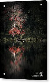 Lost In The Autumn Of Eternity Acrylic Print