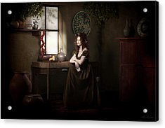 Lost In Thought Acrylic Print by Shanina Conway