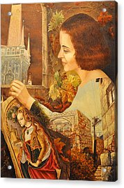 lost in Time GD Acrylic Print by Nekoda  Singer