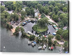 Lazy Lagoon - West Lake Okoboji II Acrylic Print