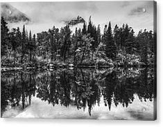 Lost Lake Acrylic Print by Mark Kiver