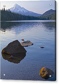 Acrylic Print featuring the photograph Lost Lake Morning 81014 by Todd Kreuter