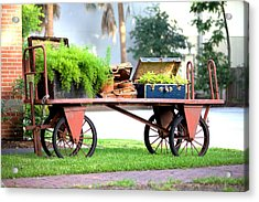 Acrylic Print featuring the photograph Lost Luggage by Gordon Elwell