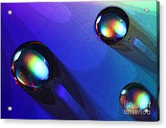 Lost Marbles Acrylic Print