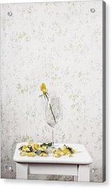 Lost Petals Acrylic Print by Joana Kruse