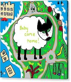 Lost Sheep Acrylic Print by Anita Dale Livaditis