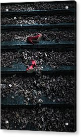 Lost Shoes Acrylic Print by Joana Kruse