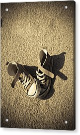 Lost Shoes Acrylic Print by Maria Heyens