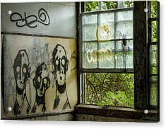 Lost Souls - Abandoned Places Acrylic Print by Gary Heller