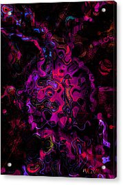 Acrylic Print featuring the photograph Lost Souls by Martina  Rathgens