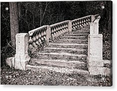 Lost Staircase Acrylic Print by Olivier Le Queinec