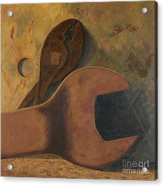 Lost Tools Acrylic Print by Garry McMichael