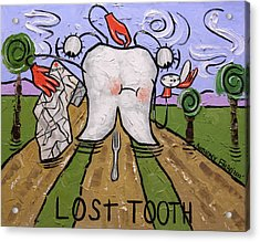 Lost Tooth Acrylic Print by Anthony Falbo