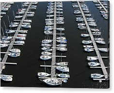 Lots Of Yachts Acrylic Print by Rob Huntley