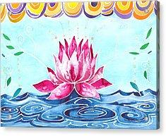 Lotus Lily Acrylic Print