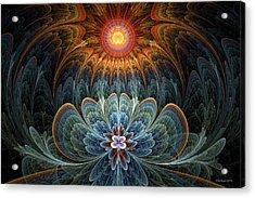 Lotus Rising Acrylic Print