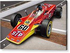 Lotus Stp Indy Turbine Acrylic Print