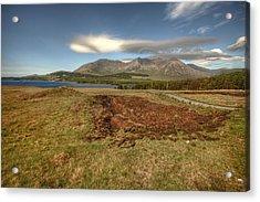 Lough Inagh Valley View Acrylic Print by John Quinn
