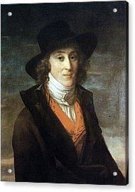 Louis De Saint-just (1767-1794) Acrylic Print