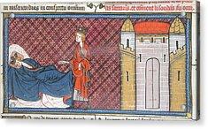 Louis Ix Captured At Mansurah Acrylic Print