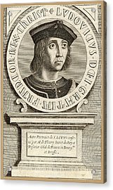 Louis Ix,  King Of France, Crusader Acrylic Print by Mary Evans Picture Library