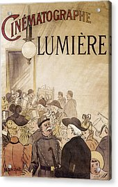 Louis Lumiere (1864-1948) Acrylic Print by Granger