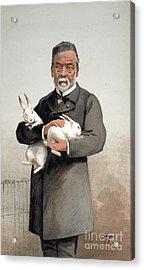 Louis Pasteur Acrylic Print by Granger