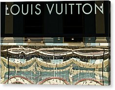 Louis Vuitton Acrylic Print