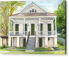 Louisiana Historic District Home Acrylic Print
