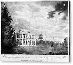 Louisiana Planter's Home Acrylic Print by Granger