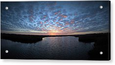 Louisiana Sunrise Acrylic Print