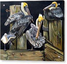 Louisiane Berceuse Acrylic Print