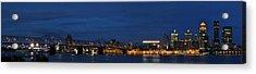 Acrylic Print featuring the photograph Louisville Skyline by Deborah Klubertanz