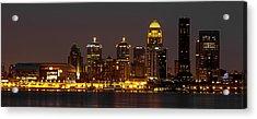 Louisville Skyline Acrylic Print