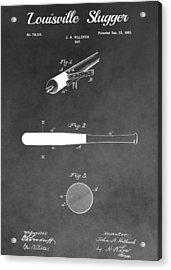 Louisville Slugger Baseball Bat Acrylic Print by Dan Sproul