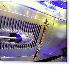 Louvered And Buckled In Las Vegas Acrylic Print by Don Struke