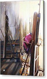 Louvre Closet Acrylic Print