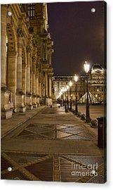 Louvre Courtyard Acrylic Print