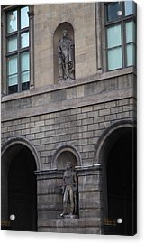 Louvre - Paris France - 011313 Acrylic Print by DC Photographer