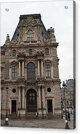 Louvre - Paris France - 011320 Acrylic Print by DC Photographer