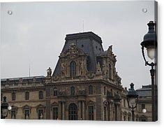 Louvre - Paris France - 011321 Acrylic Print by DC Photographer