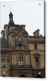 Louvre - Paris France - 011322 Acrylic Print by DC Photographer